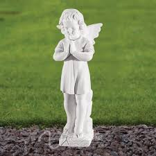 outdoor stone carving and sculptures life size marble little angel