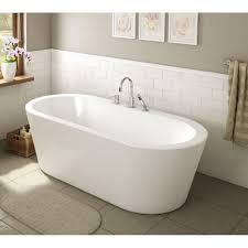 a e bath una 71 a e bath and shower una pure acrylic 71 in all in one oval freestanding tub kit