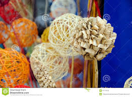Homemade Flowers Homemade Straw Flowers Stock Photo Image 51716153