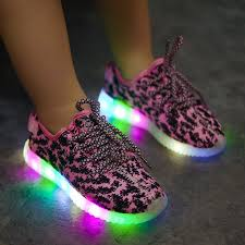 light up running shoes buy cheap kids led light up running shoes print pink black