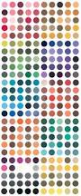traditional japanese color palette vertical by asianpuppet craft