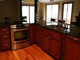 dark wood cabinet kitchens kitchen color ideas with wood cabinets home decor gallery