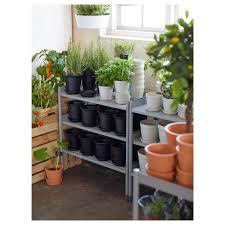 ikea hindo hindö shelving unit in outdoor grey 78x82 cm ikea