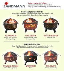 Landman Firepit Landmann Garden Lights Pit Nightcore Club