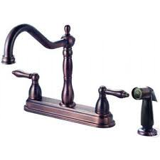 brushed bronze kitchen faucet bronze home faucets ebay