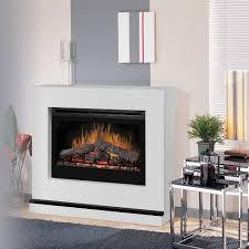 creative electric fireplace with surround interior design for home