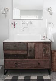 Porcelain Bathroom Vanity Marvelous Modern Reclaimed Wood Bathroom Vanity From Rustic Barn