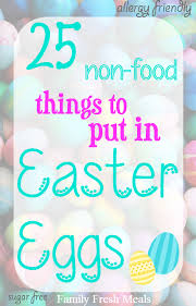sugar easter eggs with inside 25 things to put in easter eggs family fresh meals