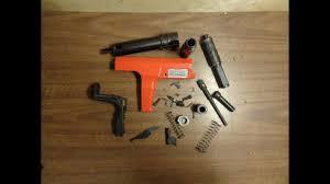 assembling a hilti dx 350 ramset cobra 27 caliber 10 shot semi