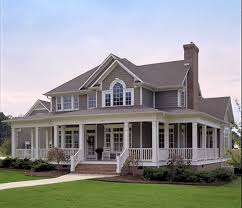 Wrap Around Porch Plan 16804wg Country Farmhouse With Wrap Around Porch Country