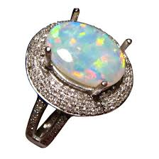 crystal opal rings images Harlequin crystal opal ring diamonds gold opal rings flashopal jpg