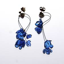 plastic bottle earrings recycled plastic bottle earrings made by gulnur ozdaglar biju de