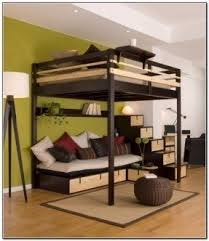 Bunk Bed With Workstation Size Bunk Bed With Desk Foter