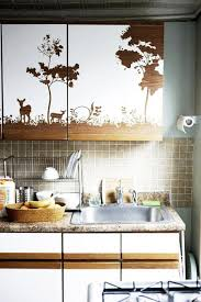 Clever Ways To Customize Kitchen Cabinets With Contact Paper - Contact paper kitchen cabinets
