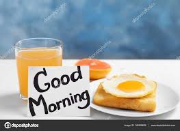 phrase cuisine note with phrase morning stock photo belchonock 146168625