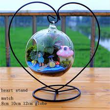 online shop 12pcs pack height u003d 23cm heart shaped metal stand