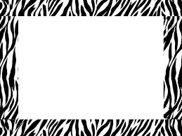 zebra border templates free here u0027s a great zebra border that can