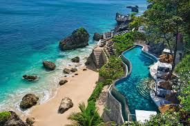 indonesia bali coast beach stones pools living room home art decor