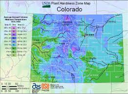 Colorado Maps by Colorado Hardiness Zone Map