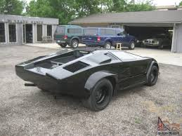 lamborghini kit car for sale lamborghini pontiac fiero kit car v 6 5 speed airconditioning