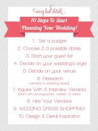step by step wedding planning newly engaged 10 steps to start planning a wedding wedding