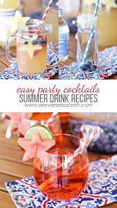 recipe 3 summer cocktails and mocktails cocktail recipes and