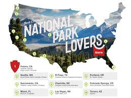 Everglades National Park Map Study Miami Is The 4th Best City For National Park Lovers