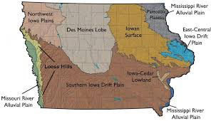 Iowa Counties Map Iowa Landscapes Map Thinglink