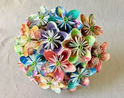 paper flower bouquet paper flower bouquet etsy