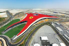 ferrari f1 factory the world u0027s first formula one theme park opens in abu dhabi