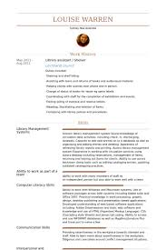 resume template for assistant library assistant resume sles visualcv resume sles database