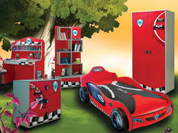 modern car nuance of the little boy room design that is suit for