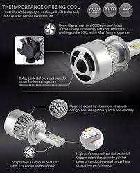h7 led kit headlight bulb 4 holden astra barina combo zafira one