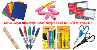 Office Depot by Office Depot Officemax Supply Deals For 7 9 To 7 15 17