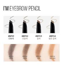 light grey eyebrow pencil i m eyebrow pencil bp001 dark grey