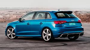 audi rs 3 audi rs3 sportback 2017 review by car magazine