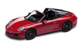 porsche 991 4 gts 911 991 ii targa 4 gts carmine 1 43 911 model cars
