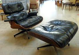 vintage eames lounge chair and ottoman amazing original eames lounge chair with ottoman zeitlos berlin