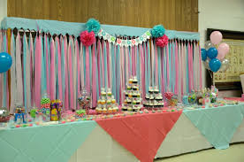 dollar store baby shower baby shower table cloth ready to pop candy buffet dessert dollar