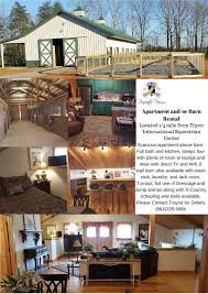 apartment barn rental u2014 renovatio farm equestrian horse