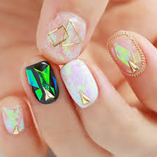 holographic nail art choice image nail art designs