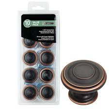 Bronze Cabinet Knobs Cabinet  Furniture Hardware The Home Depot - Home depot kitchen cabinet knobs