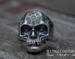 mens rings skull images Mens skull ring etsy jpg