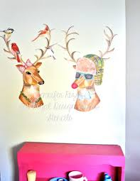 christmas tree wall decoration christmas lights decoration christmas wall decor reindeers and trees and snowflakes oh my