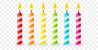 birthday cake candles birthday cake candle clip birthday candles png vector