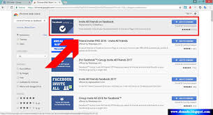 how to invite all friends to like facebook page in one click sbmade
