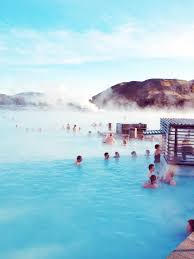 the blue lagoon geothermal spa is one of the most visited