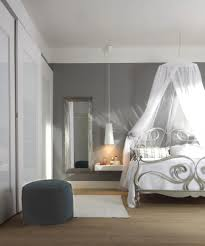Schlafzimmer Deko Blau Romantisches Schlafzimmer In Blau