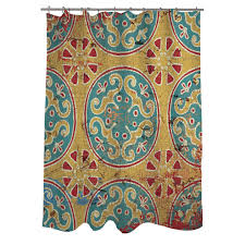 Threshold Medallion Shower Curtain by Curtains Ideas Medallion Shower Curtain Inspiring Pictures Of