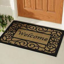 Coir Doormat Wipe Your Paws Coir Doormat Door Mats U0026 Floor Mats Ebay